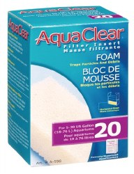 Aqua Clear Foam Filter Insert 5-20 Gallon