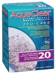 Aqua Clear Zero-Carb Insert 20 Gallon