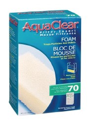 Aqua Clear Foam Filter Insert 40-70 Gallon