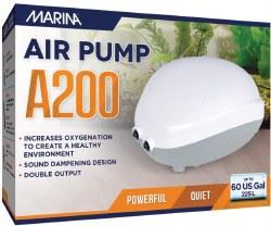 Marina 200 Air Pump 60 Gallon