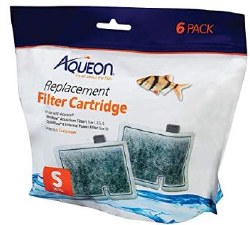 Aqueon Small Bow Filter Cartridge Replacement 3 count