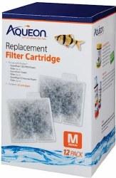 Aqueon Replacement Cartridges Medium 12 Pack