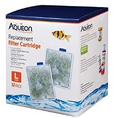 Aqueon Large Filter Cartridge Replacement 12 count