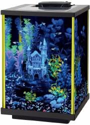 Aqueon Aquarium Kit Lime Green NeoGlow 5 Gallon