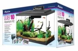 Aqueon Led Aquarium Kit Black 10 Gallon