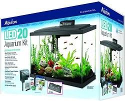 Aqueon Led Aquarium Kit Black 20 Gallon