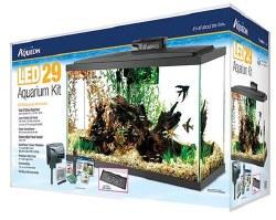 Aqueon Led Aquarium Kit Black 29 Gallon