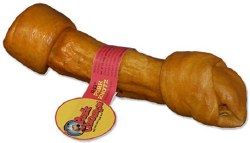 Premium Pork chomps 11-12 Inch Roasted Knot Bone