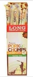 Premium Pork Chomps Xhixken Crunchy Stick 20 Inch