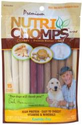 Nutri Chomps Assorted Mini Twist 15oz