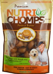 NutriChomps Peanut 8ct Mini Bn