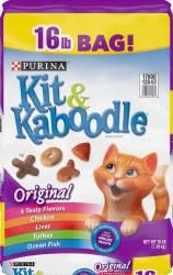 Kit & Kaboodle Original Dry Cat Food 16lb