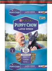 Purina Puppy Chow Large Breed Dry Dog Food 32lb