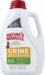 Natrues Miracle Cat Urine Destroyer 1 Gallon
