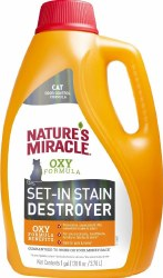 Natures Miracle Cat Stain & Odor  Destroyer 1 Gallon
