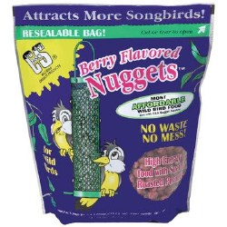 Berry Flavored Suet Nuggets 27oz No Mess For Wild Birds