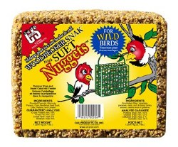 Woodpecker Snak With Suet Nuggets 2.4lb