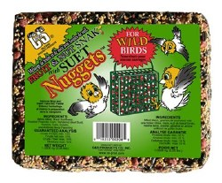 Fruit Snack With Suet Nuggets 2.25lb