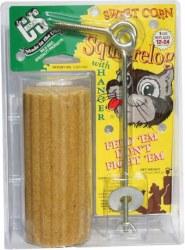 Corn Squirrel Log With Hanger