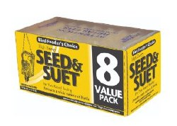 Seed & Suet Value Pack 11oz