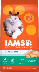 Iams ProActive Health Adult Hairball Care Dry Cat Food 7lb