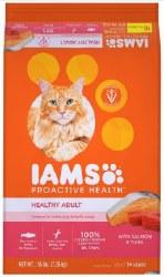 IamsCat Healthy Sal&Tuna 16lb
