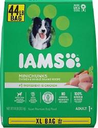 Iams Mini Chunks 44lb Bag