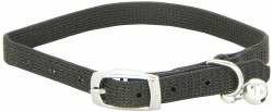 Adjustable Nylon Collar Black