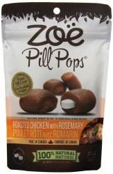Zoe Tender Bites Pill Roasted Chicken Dog Treats 3.5oz