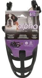 Alpha Muzzle,Black XXLarge
