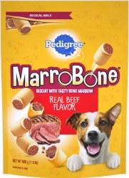 Pedigree Marrobone Real Beef Flavor Dog Treats 24oz