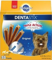 Pedigree Dentastix Original Toy/Small Dog Treats 58pk