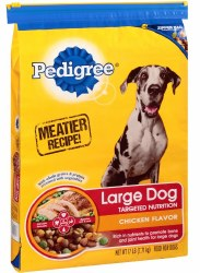 Pedigree Large Dog Nutrition Chicken Flavor Dry Dog Food 17lb
