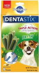 Pedigree Dentastix Fresh Small/Medium Dog Treats 9pk