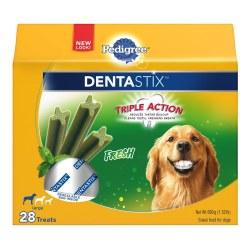 Pedigree Dentastix Fresh Large Dog Treats 28pk