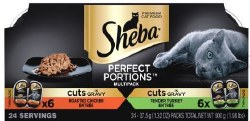 Sheba Poultry Cuts Variety12ct