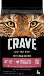 Crave Chicken-Salmon 4Lb