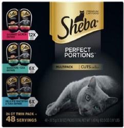 Sheba Seafood Cuts Variety24ct