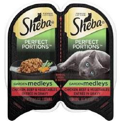 Sheba Chckn/Beef/Veggies 2.6oz