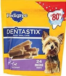 Pedigree Dentastix Original Toy/Small Dog Treats 24pk