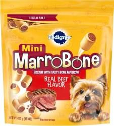 Pedigree Mini Marrobone Real Beef Flavor Dog Treats 15oz