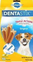 Pedigree Dentastix Original Small/Medium Dog Treats 10pk