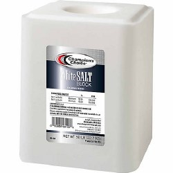 Champion's Choice White Salt Block, 50 lb.