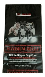 Maximum Bully Elite K9 Nutrition Chicken and Pork Dog Food 33lb