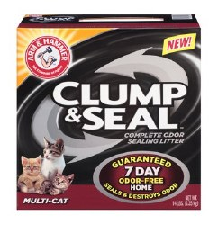 Arm & hammer Multi Cat Clump And Seal Clumping Litter 14lb