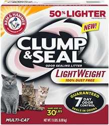 Arm & Hammer Clump & Seal Lightweight 15lb