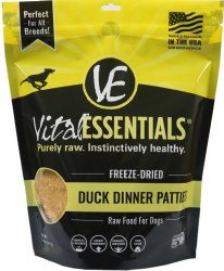 Vital Essentials Duck Patties 6lb Bag