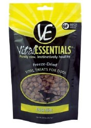Vital Essentials Dry Duck Nibblet Treats 2oz Bag