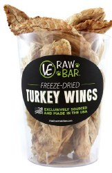 Freeze Dried Turkey Wing Each