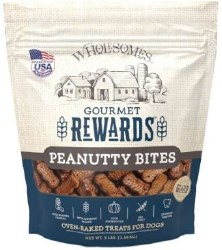 SPORTMiX Wholesomes Grain Free Premium Gourmet Biscuit with Roasted Peanuts Dog Treats 3lb